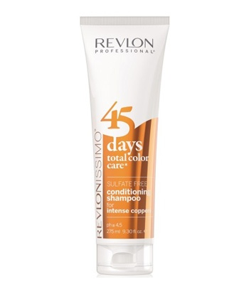 Revlon Revlonissimo 45 Days Intense Coppers 2in1 Shampoo & Conditioner