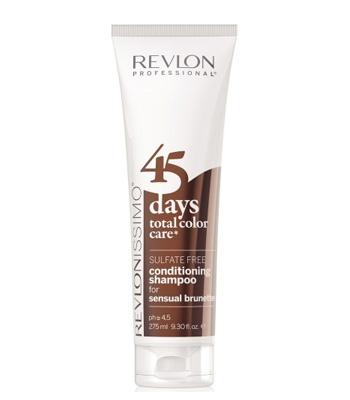 Revlon Revlonissimo 45 Days Sensual Brunettes 2in1 Shampoo & Conditioner