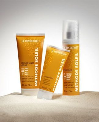 Zonneproducten voor de huid