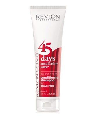 Revlon Revlonissimo 45 Days Brave Reds 2in1 Shampoo & Conditioner