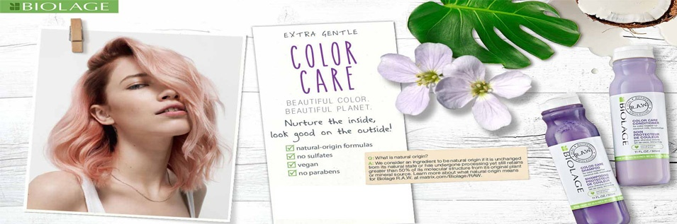 Biolage R.A.W. shampoo's en haarconditioners