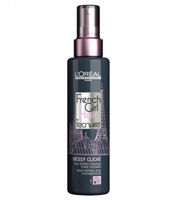 LOreal French Girl Messy Cliche