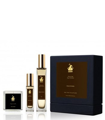 herra hair perfume deluxe gift set wild wood