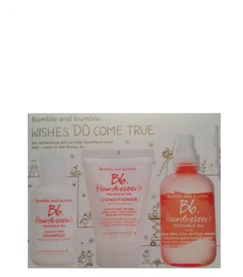 bumble and bumble hairdressers invisible oil set