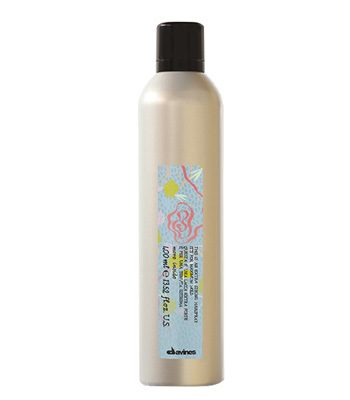 Davines more inside extra strong hairspray
