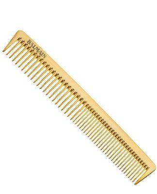 balmain golden cutting comb limited edition
