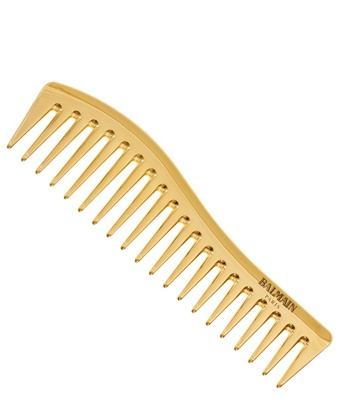 balmain golden styling comb limited edition