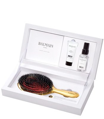 balmain golden spa brush limited edition