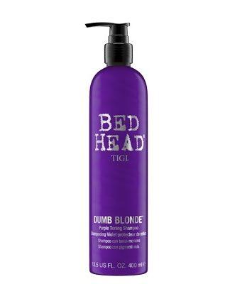 Bed Head Dumb Blonde Purple Toning Shampoo
