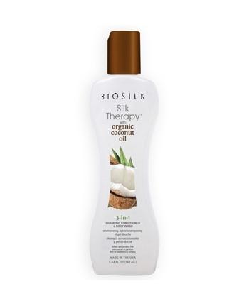 Biosilk Silk Therapy 3-in-1 Shampoo, Conditioner & Body Wash