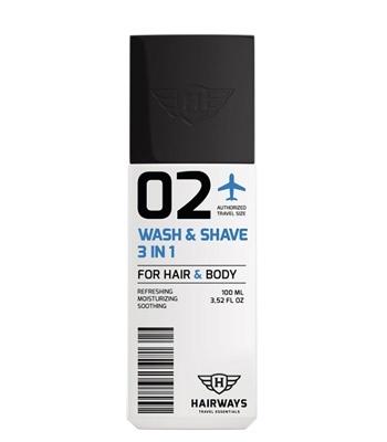 Hairways 02 Wash & Shave 3 IN 1