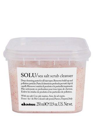 Davines SOLU Sea Salt Scrub Cleanser