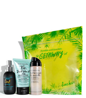 Bumble and Bumble The Getaway Summer Set Fine Hair