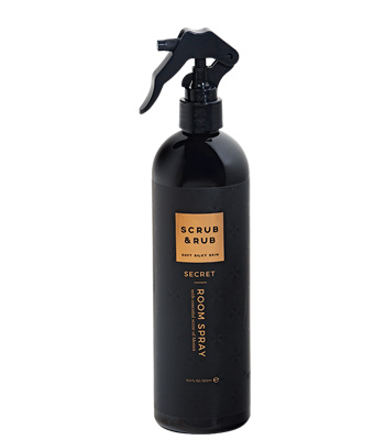 Scrub & Rub Room Spray Secret