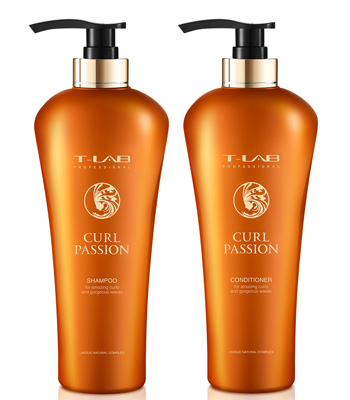 T-LAB Curly & Wavy Hair Essentials Plus